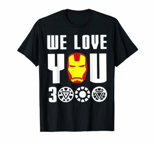 I Love you 3000 Graphic  Mens Funny T-Shirt