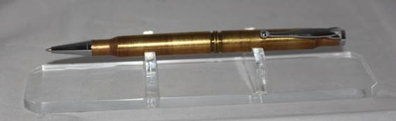 30-06 Bullet Pen with Chrome Fittings BP81 by PensByJesse on Etsy