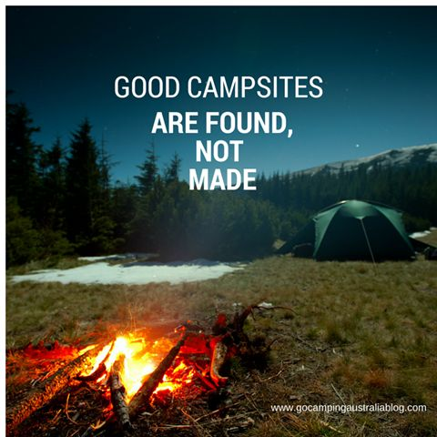 How to choose a campsite - 7 tips for camping happiness (and beginners too)