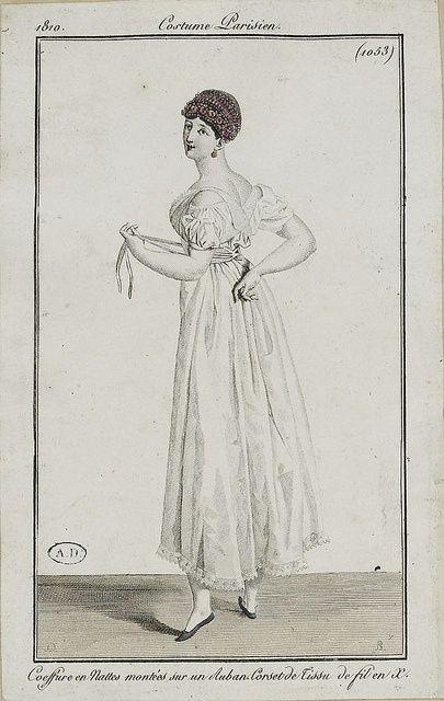 1810 chemise & stays