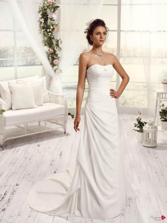 Robes de mariée Mademoiselle Amour, modèle Mlle Tamora http://www ...