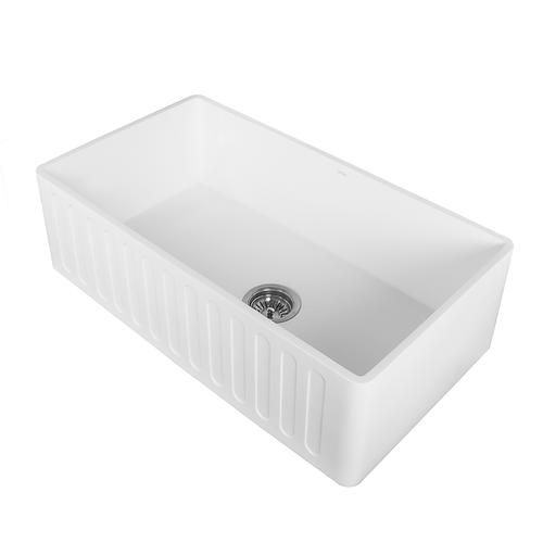 Farmhouse Sink Menards 520 Top To Bottom Depth Deepest Bowl 9