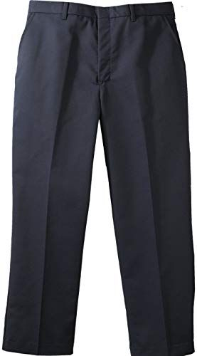 Ed Garments Mens Polyester//Cotton Moisture Wicking Flat Front Cargo Dress Pant