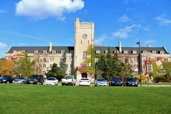 Johnston Hall at the University of Guelph in Ontario