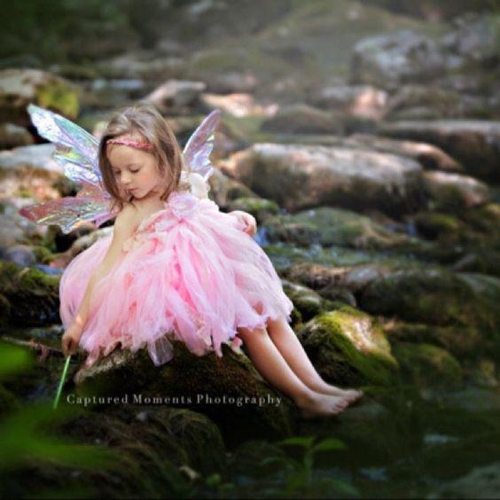 Medium size Purple Iridescent 4 Wing Woodland Fairy Wings