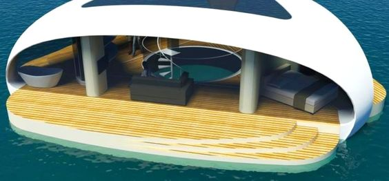 BMT Asia Pacific is seeking commission to build Seascape: standalone villas that float pontoon-style on the sea, complete with an underwater bedroom.