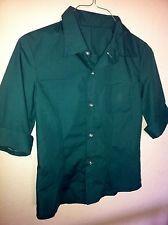 Twilight Bella Swan new moon grün Bluse Shirt Volterra Hemd