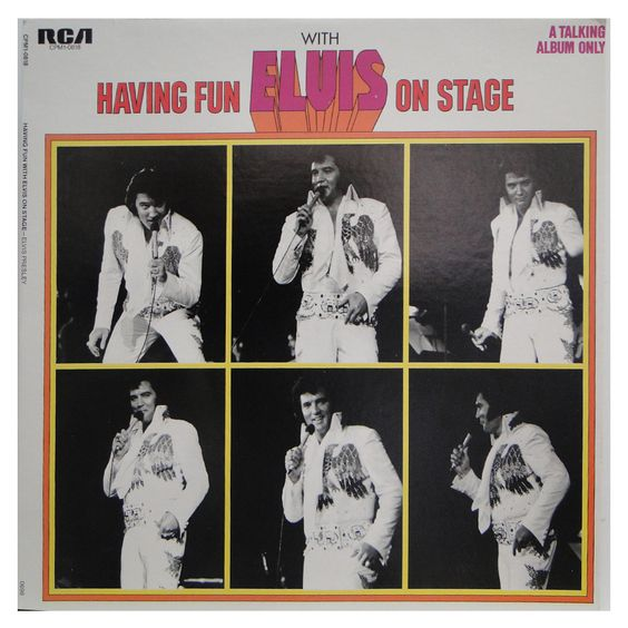 #ElvisPresley - #HavingFunOnStage - #vinil #vinilrecords #music #rock