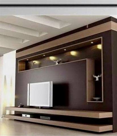 20 Outstanding Ideas For Tv Shelves To Design More Attractive Living Room Tv Room Design Living Room Tv Wall Tv Wall Decor