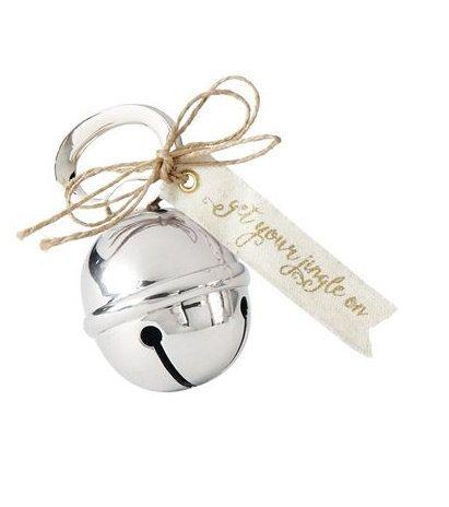 Jingle Bell Wine Bottle Opener, Holiday Decor Gift, Bottle Opener, Christmas Bottle Opener