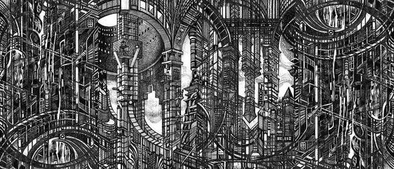 Architectural Utopia - Serge Yudin