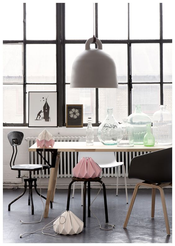 Grey and pink inspiration by Line Thit Klein