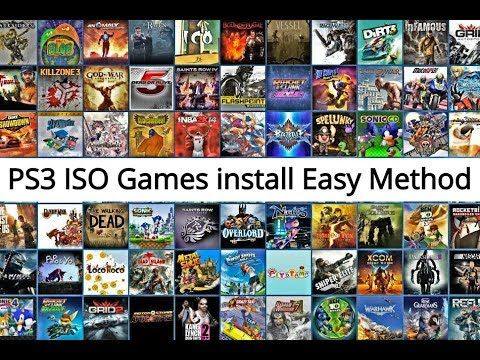 how do i install a iso game