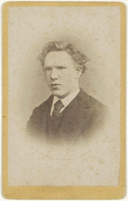 Vincent van Gogh aged 19, January 1873 -by J.M.W. de Louw
