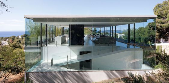 CAN MANA on Ibiza,Spain, by AABE - Atelier d'architecture Bruno Erpicum & Partners