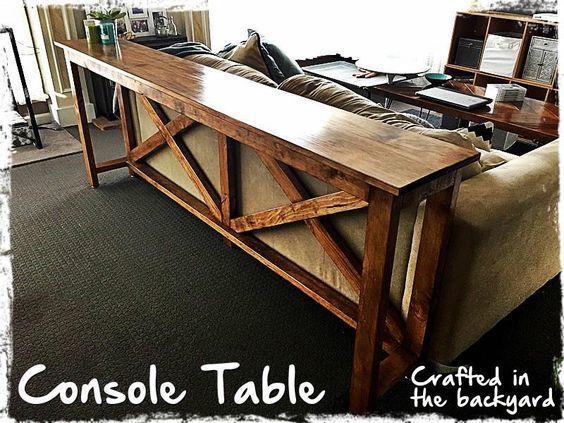 Console Sofa Table Ana White Diy Sofa Table Bar Table Behind Couch Table Behind Couch