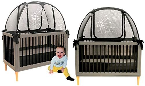 Twin Pack 2 Popup Crib Tents Child Crib Security Pop Up Tent