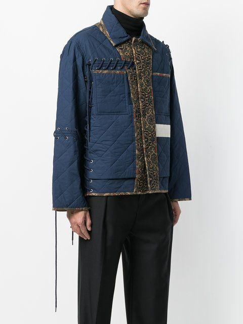 Craig Green Quilted Panelled Jacket Mens Puffer Jacket Padded Jacket Street Wear