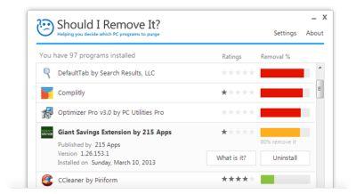 Software que informa que aplicaciones deberíamos guardar y cuales borrar en Windows (repineado por @PabloCoraje)