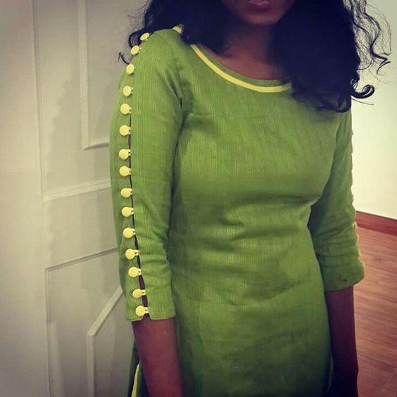 kurta neck designs for female