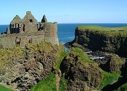Dunluce Castle is one stone heritage place I would love to see in person!