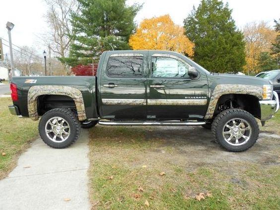 Lifted Chevy Trucks | Lifted Trucks: 2013 Chevy Silverado Rocky Ridge Realtree Camo Lifted ...