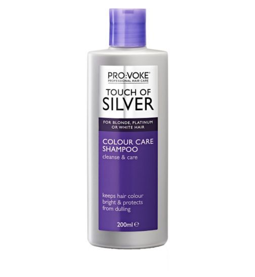 ProVoke Touch of Silver Daily Maintenance Shampoo 200ml - Boots