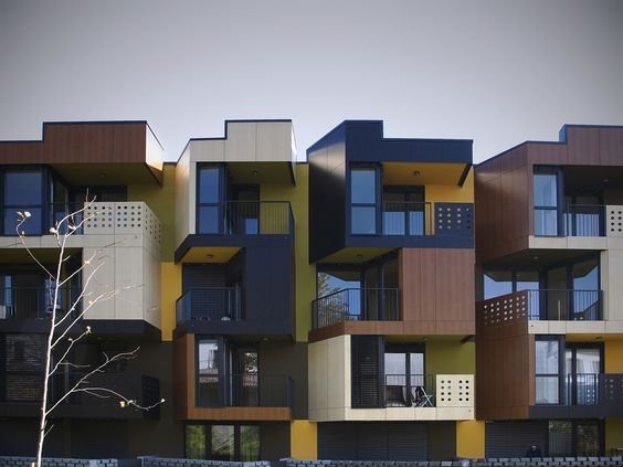 Tetris Difference Of Exterior Colors