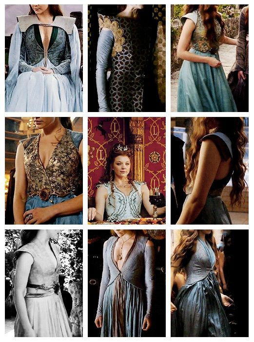 Margery Tyrell outfits