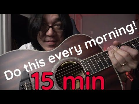 Do This Routine Every Morning To Get Shredded 5 Great Guitar Techniques Youtube Guitar Blues Guitar Music Lessons