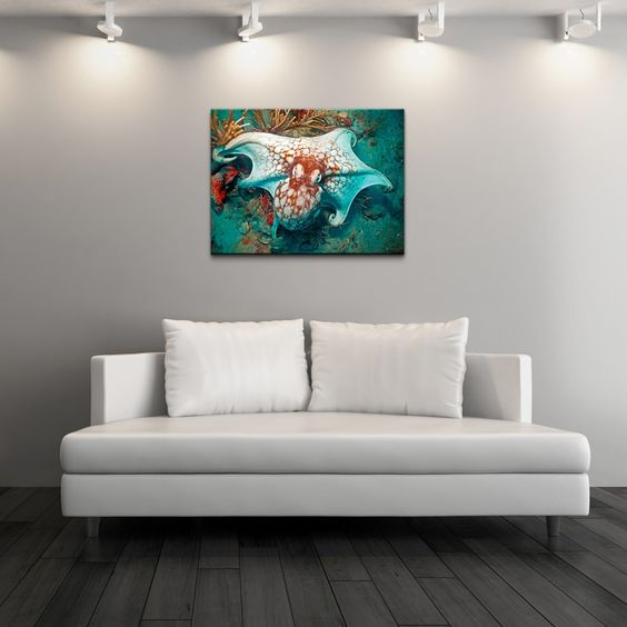 <li>Artist: Christopher Doherty</li><li>Title: Octopus</li><li>Product type: Gallery Wrapped Canvas Art</li>