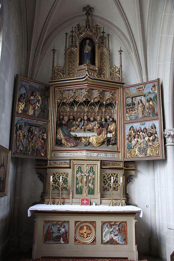 Ingolstadt - Münster Unserer Lieben Frau - altare - Ultima cena - 1425-1536