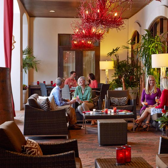 Grand Bohemian Hotel Charleston - Rooftop Restaurant and Terrace