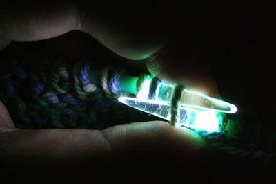 Light up knitting needles!