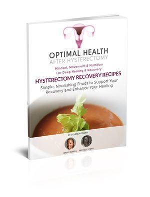 We've just started Part 2 of the Hysterectomy Recovery Course this week. Michelle Lyons and I cover some 'lesser considered' points for recovery regarding nutrition, and share our own 'Healing Nutrition Recipes' - perfect for passing onto your client. We cover, key strategies for off-setting the rigours of surgical positioning and also essential info for the woman's return home. https://www.burrelleducation.com/optimal-health-after-hysterectomy/