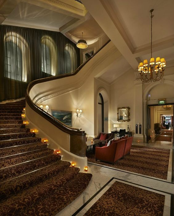 The top 25 British hotels, and of course The Goring is on the list, my personal favourite