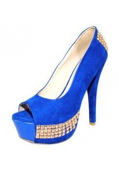 PEEP TOE SUEDE PUMP-Heels-prom heels,high heels shoes,leopard ...