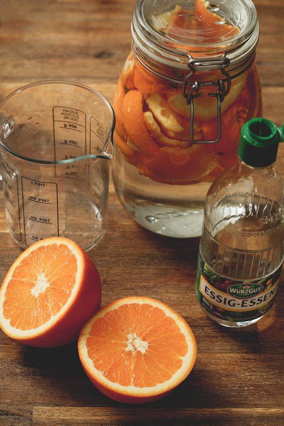 [Vegan DIY] Orangen-Reiniger – Günstig, umweltfreundlich und (fast) plastikfrei