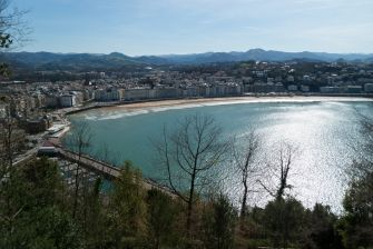 Bahía de La Concha. San Sebastián, Guipúzcoa