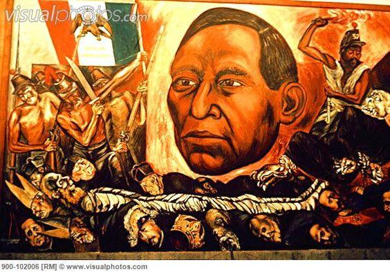 Jos clemente orozco benito ju rez y la reforma m xico for Benito juarez mural