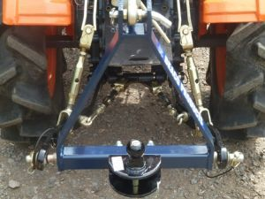 Blacktrac Compact Tractors - New Ball & Pin Tow Bar '3' Point Linkage Frame