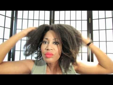 Bow Bun on Natural 4C/4B Hair