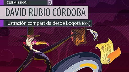 Ilustración. Viajero autorizado de DAVID RUBIO CÓRDOBA. Ilustración compartida desde Bogotá (COLOMBIA). Leer más: http://www.colectivobicicleta.com/2013/09/Ilustracion-de-DAVID-RUBIO-CORDOBA.html(COLOMBIA).