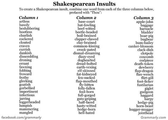 I know this isn't technically a book, but it deserves to be with other great literary works.  Gotta love Shakespeare!!!