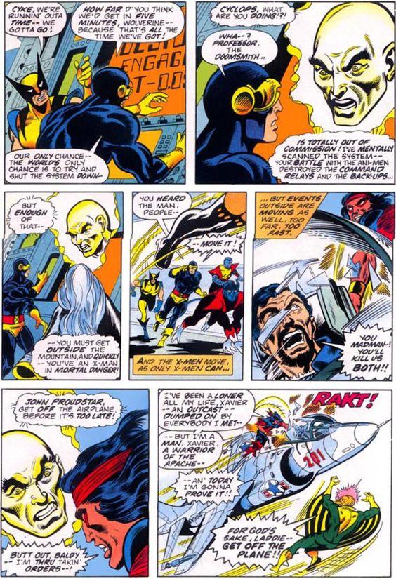 Thunderbird (John Proudstar) dies.