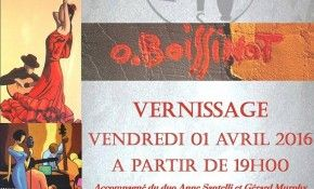 Vernissage d'exposition, 1er avril