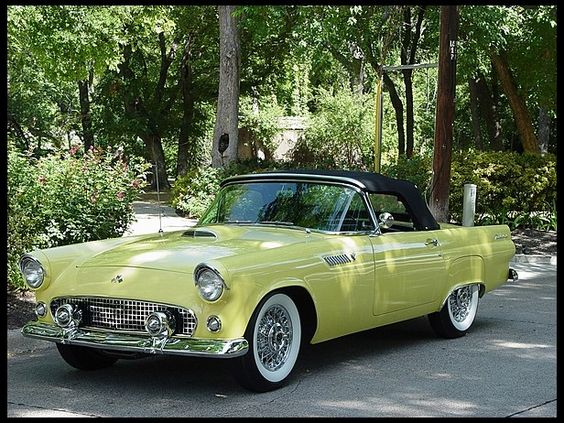 1955 Ford Thunderbird Convertible 292/195 HP, Automatic