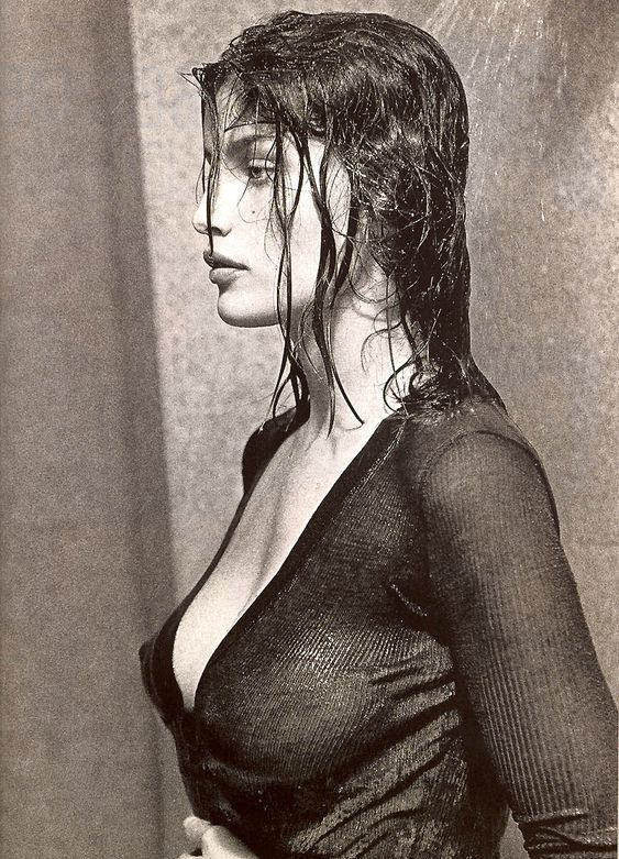 Laetitia Casta by Dominique Issermann for Elle France February 2002