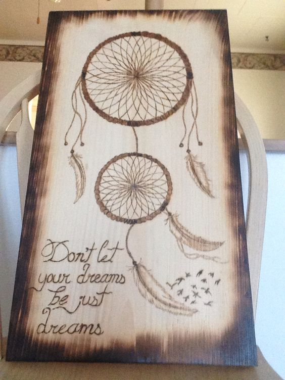Dream Catcher Wood Burning I Have Sold Loved This 1