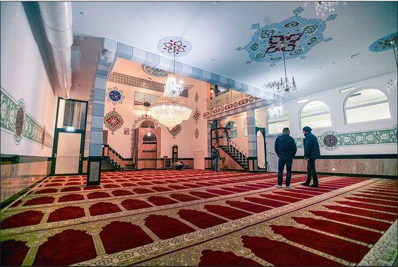 Muslimischer Verein Bern  Ein Bild aus einer ansehnlichen Perspektive.